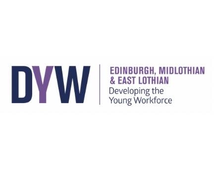 DYW logo signpost