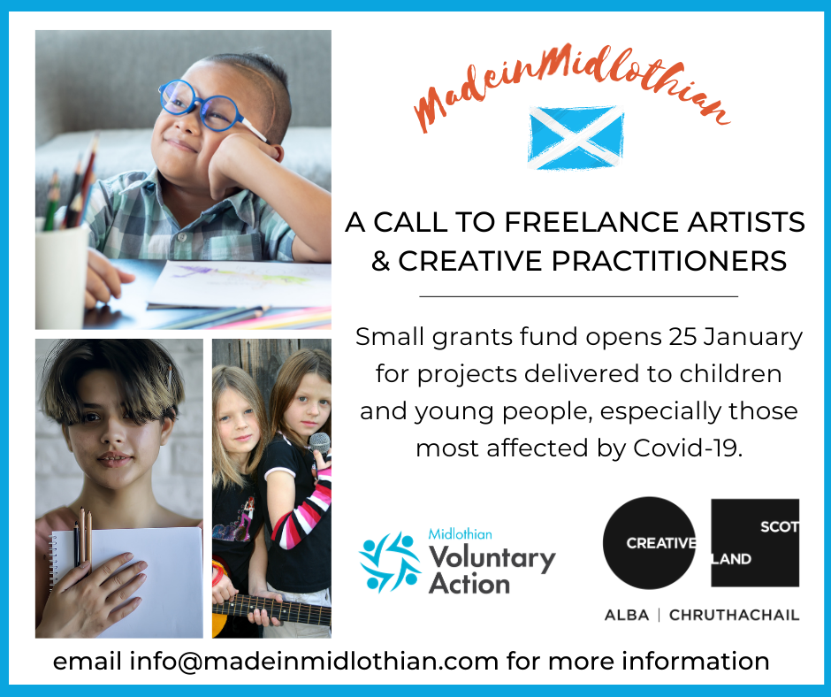 Made in Midlothian Youth Arts Small Grant Scheme